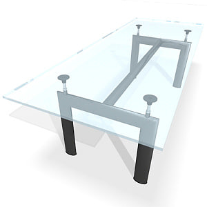 3d model of lc6 table