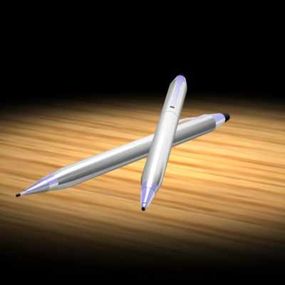 cross pen pencil 3d model
