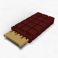 neuralnetprocessor terminator 3d model