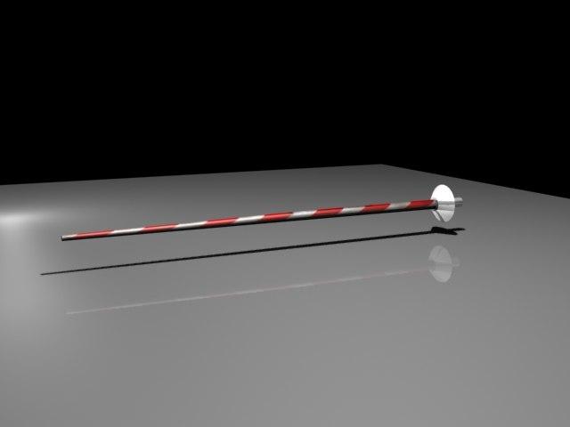3d model lance jousting