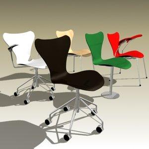 arne jacobsen butterfly chair max
