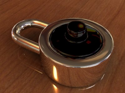 free lock 3d model