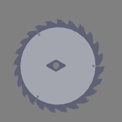 3d saw blade