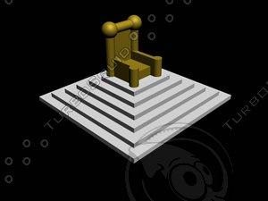 throne chair max free