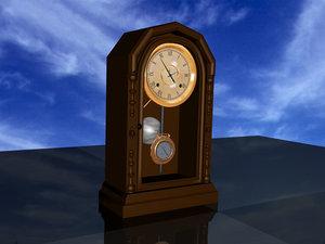 x antique ansonia clock