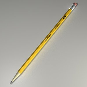 pen pencil c4d