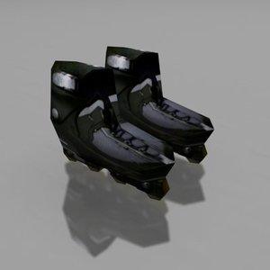 blades roller 3d max