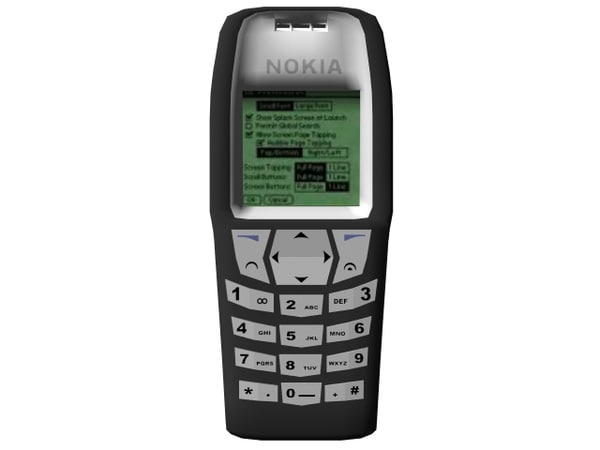 nokia 6610 3d obj