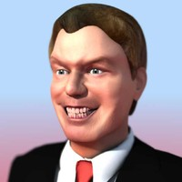 3d model uk prime tony blair