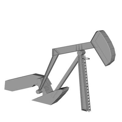 3d model oil pomp