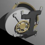 bank vault 3d model
