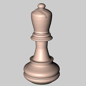 3d pieces chess