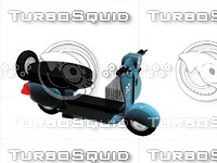 3ds max clasical scooter