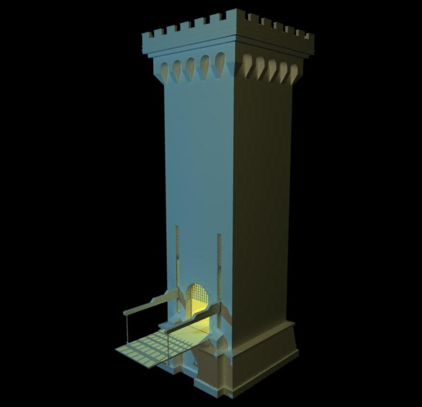 gatehouse castle towers