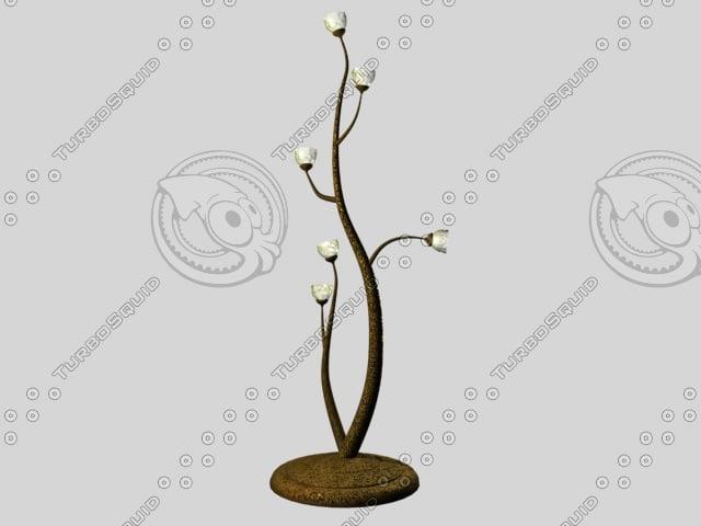lamp-tree 3d model