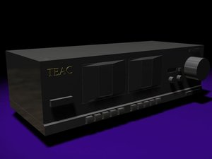 3dsmax teac tape deck