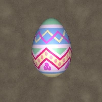 easter egg zipped 3d 3ds