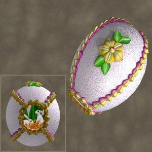 sugar egg zipped 3d ma