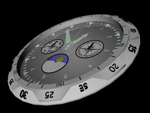 free c4d model watch