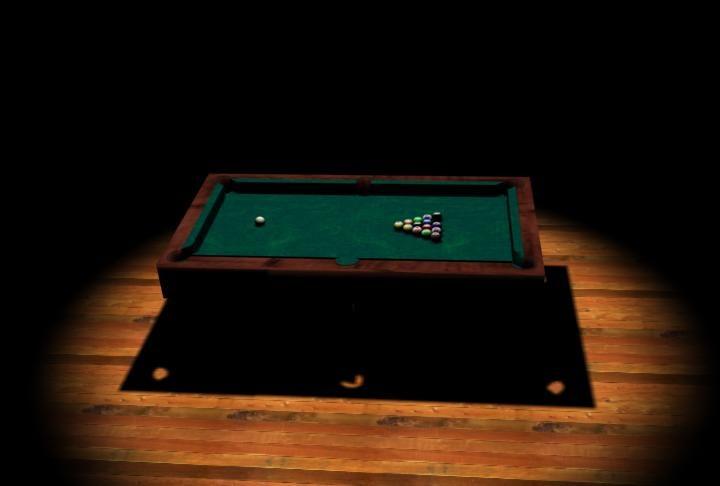 3dsmax pool billard