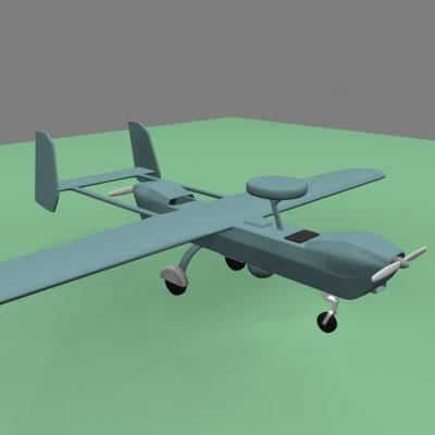 max hunter uav spy plane