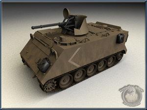 3d m163 vulcan model