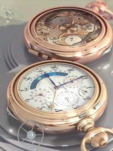 3d patek philippe chronometer