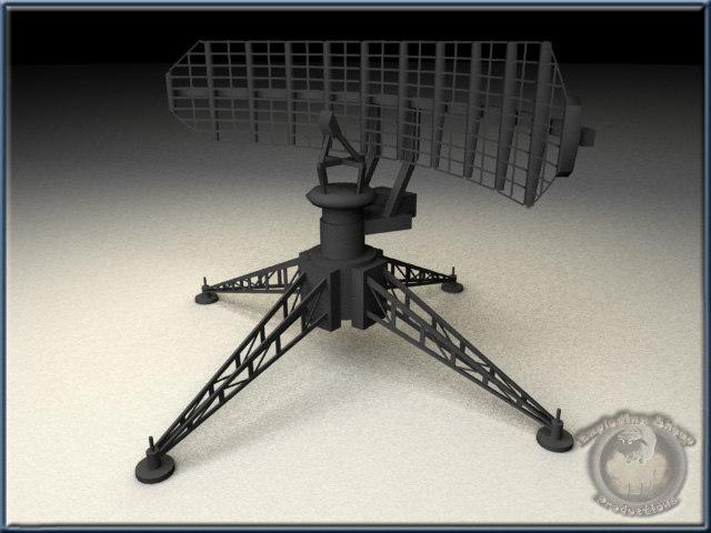 3d model mobile radar