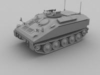 spartan apc 3d model