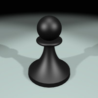 3d pawn model