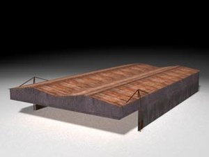 3d model of shed