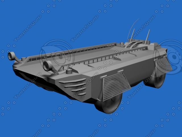 army vehicle 3d max