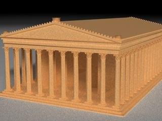 ancient greek temple max