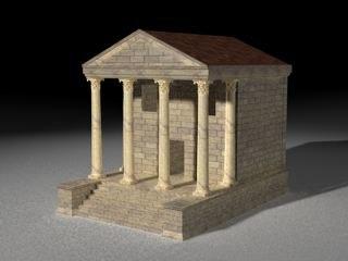 ancient roman temple max