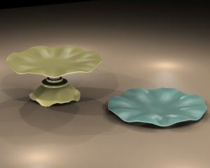cake stand 3d 3ds