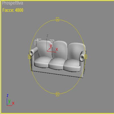 poltrona 3d model