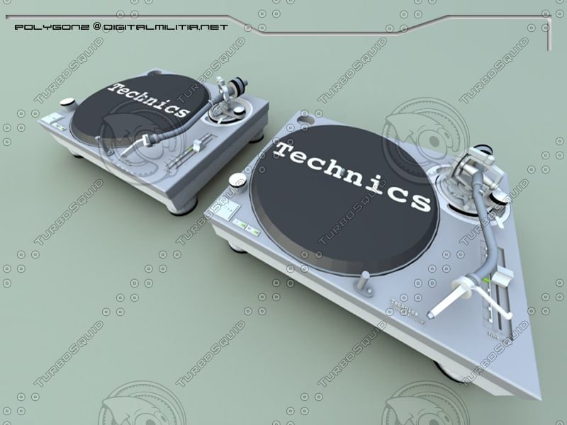 3ds max mk2 turntables