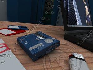 3d sony minidisc