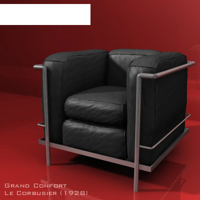 designer chair grand 3d model