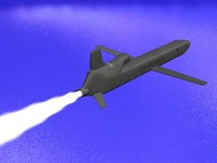 conventional cruise missile 3d model
