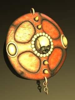 3ds max ancient shield