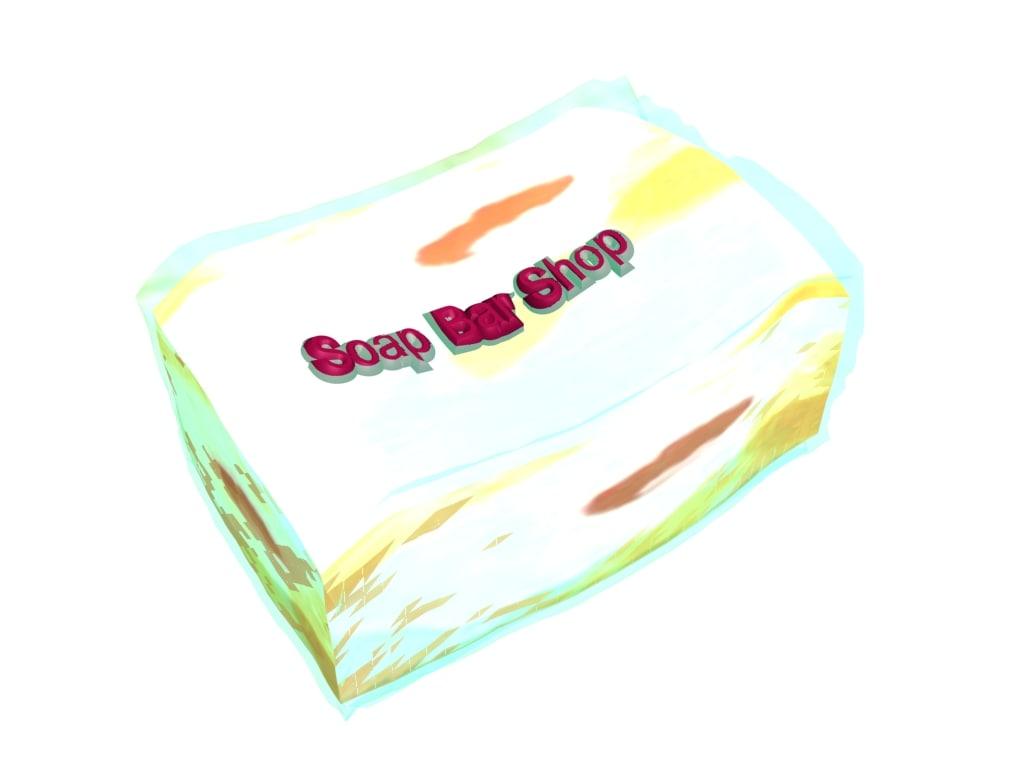3d soap model