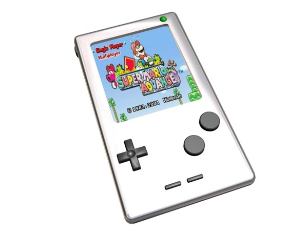 free max mode gameboy console