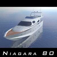 niagara 80 3d model