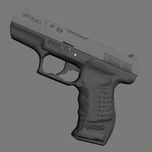 lightwave walther p99 pistol