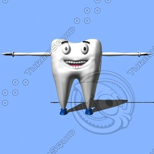 max dental tooth character