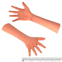 asset hands view jistyles 3d model