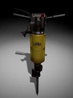 3d pneumatic hammer