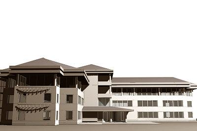 3d 3ds office building