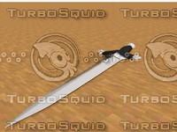 sword ancient 3d c4d